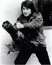 "Jackie Chan - B&W 10""x 8"" Signed 'Action Shot' Photo - UACC RD223"