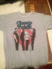 Cheap Trick 1982 One On One Tour T-Shirt Medium Grey
