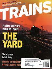 Trains Magazine June 2002 Railroading's hidden half : THE YARD