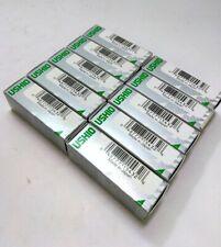 Lot of 10 New USHIO L158 Microscope Halogen Bulbs, 50 Watt, 12 Volt