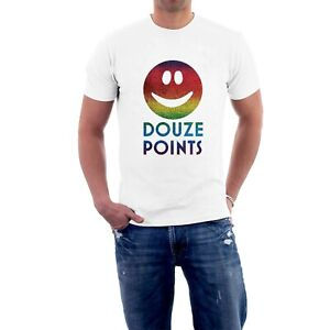 NEW DOUZE POINTS NUL POINTS T-shirt. SOFT RAINBOW SHIMMERING PRINT Eurovision