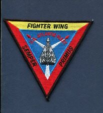 FIGHTER WING ONE FITWING 1 US NAVY GRUMMAN F-14 TOMCAT VF Squadron Jacket Patch