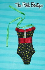 MONSTER HIGH GHOULIA YELPS SKULL SHORES DOLL OUTFIT REPLACEMENT SWIMSUIT ONLY