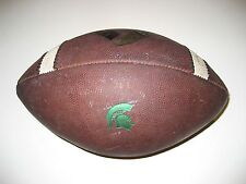 Michigan State Spartans Game Used Nike Vapor One Football - University 1 Ball