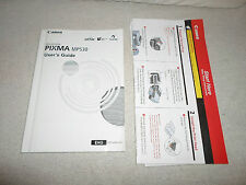 Canon Pixma MP530 User Manual/Instruction Guide All-in-One Printer **Book Only**