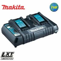 Makita DC18RD Twinport 14.4V - 18V NiMh & Li-ion Battery Charger Double Charging