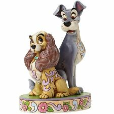 Disney Traditions 4046040 Opposites Attract Lady and Tramp 60th Anniversary