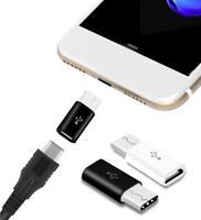 Adapter Micro USB auf USB C Typ-C Stecker wandelt USB 2.0 Typ B zu USB 3.1 Typ C