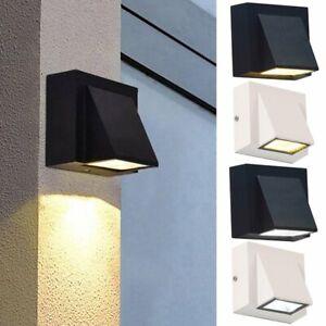 LED Wandleuchte IP65 Außen Innen UP-Down Wandspot Fassadenlampe Strahler Spot