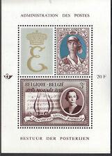 Belgium 1966 Queen Elisabeth National Anti-Tuberculosis League Mnh S/S Sc # B790