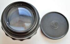 Black  Russian Jupiter 9  85 mm f/2 SLR Lens  M42 Zenit  Portrait