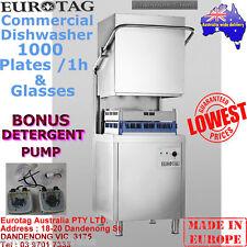EUROTAG Commercial Dishwasher Hood/Pass Through BrandNew Cafe Bar Restaurant