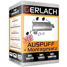 Auspuff C-Crosser 2.2 HDi Outlander 2.0 Di-D Peugeot 4007 HDI 2.2 Endtopf *4701
