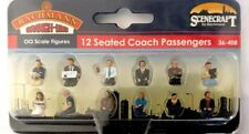 Scenecraft OO Gauge Seated Coach Passengers Plastic Figures 36-408