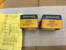 THORDARSON High Fidelity 40 Watt Output Transformer Pair 22S42 7400 ohm