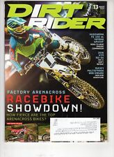 Dirt Rider Motocross Magazine July 2016 Arenacross Jace Owen Ducati