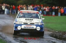Tommi Makinen Nissan Sunny GTI-R RAC Rally 1992 Photograph 1