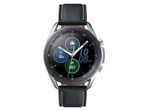 Samsung Galaxy Watch 3 45MM, GPS, Bluetooth - Mystic Silver US New
