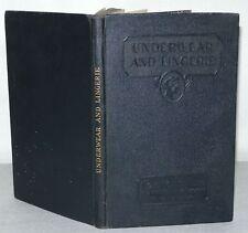 Underwear And Lingerie, Women's Institute, Domestic Arts & Sciences, HB C1930