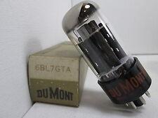 Dumont Nos Nib 6Bl7Gta Audio Electron Vacuum Tube Tested on Tv-7 #C.2063