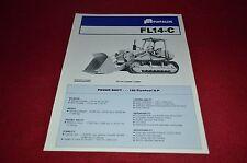 Fiat Allis Chalmers FL14-C Crawler Loader Dealer's Brochure YABE11 Ver87