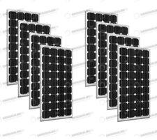 Set 8 x Pannelli Solari Fotovoltaico 300W Europeo 24V tot. 2400W Casa Baita Stan