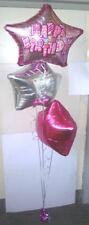 Ballons de fête roses anniversaire-adulte pour la maison