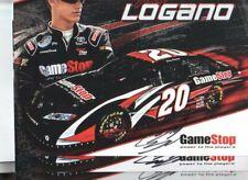 (3) Joey Logano Autographed 8x10 Photo Cards NASCAR Race Car Driver Star