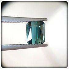 Tourmaline bleu indicolite 1.57ct taille émeraude