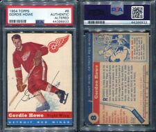 1954 TOPPS #8 GORDIE HOWE PSA 0 AA: AUTHENTIC ALTERED (6933)
