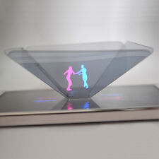 HOLOGRAPHIC PROJECTOR MOBILE SMART PHONE HOLOGRAM 3D FOR IPHONE SAMSUNG S6 S7 +