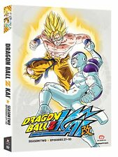 Dragon Ball Z Kai Dragonball Z Kai Season 2 Two (DVD, 4-Disc) NEW! FAST SHIPPING