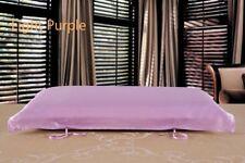 1X 100% Pure Silk Pillow Towel Covers Satin Cushion Pillowcase Solid Natural New