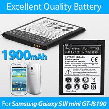 Mini 1900mAh Ersatzakku Batterie Akku für Samsung Galaxy S3 Mini i8190 i8160