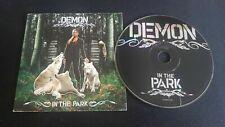 Demon – In The Park French CD Single Promo Cardboard Sleeve