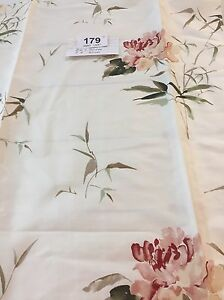 REMNANT Off Cut Swaffer Peony Rose Cushions Blinds Curtains 66x90cm Rrp £40