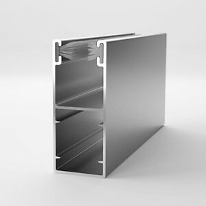 ALU Aluminium Führungsschiene Schiene Rolladen Rollladen 53/22 mm    5,95 €/m   
