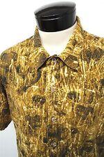 Wrangler CamoDog camouflage button down camo hunting shirt 15-15.5 (M) mens#4871