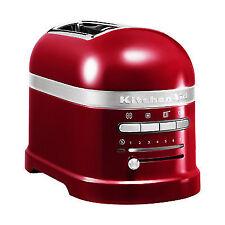 Kitchenaid Artisan 5KMT2204BCA 2 Slice Kitchen Toaster Candy Apple Red