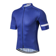 Weimostar 2017 Blue Men Bicycle Bike Half Sleeve Cycling Top Jersey Clothing