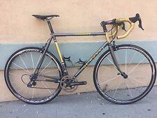 De Rosa Neo Primato Steel Road Bike Campagnolo Record 55cm Dedacciai Fulcrum