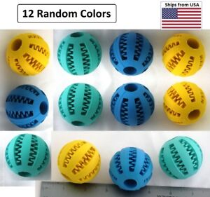 Toy Ball 'Insert Treats', Chase & Play for Dog & Cats, Small, Wholesale 12 Count