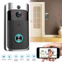 1280*720 Smart Wireless WiFi DoorBell Smart Video Phone Door Visual IR Recording