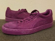 PUMA SUEDE CLASSIC Purple Sparkle SZ 6 Womens Sneakers Shoes
