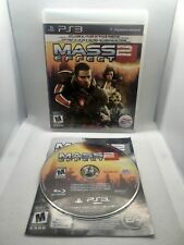 Mass Effect 2 PS3 PERFECT DISC Complete CIB TESTED Fast Shipping Worldwide