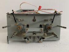 TEAC X-1000R Reel to Reel Flywheel Assembly w/ Tape Guides Parts Repair Restore