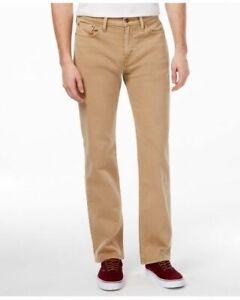 Levi's Men's 514 Straight Jeans, True Chino 14w Cord Wt, 33W / 34L