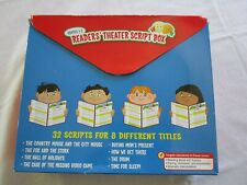 Lakeshore Readers' Theatre Script Box 32 Scripts with 8 TitleS Complete Gr 1-2