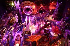 DATA EAST Pinball Playfield Light Mod Guns N Roses,Star Trek,Hook,Lethal Weapon3