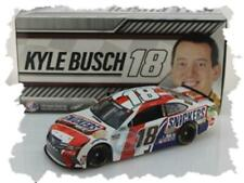 "2020 KYLE BUSCH #18 SNICKERS WHITE TOYOTA CAMRY 1:24 ""564 MADE"""